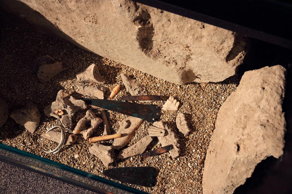 Tumba - Cabecico del Tesoro - Museo Arqueológico de Murcia