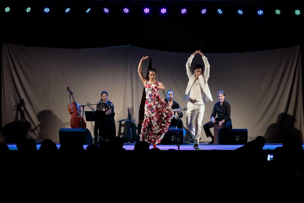 Flamenco dancing in the Week of the Cultural Festivities
