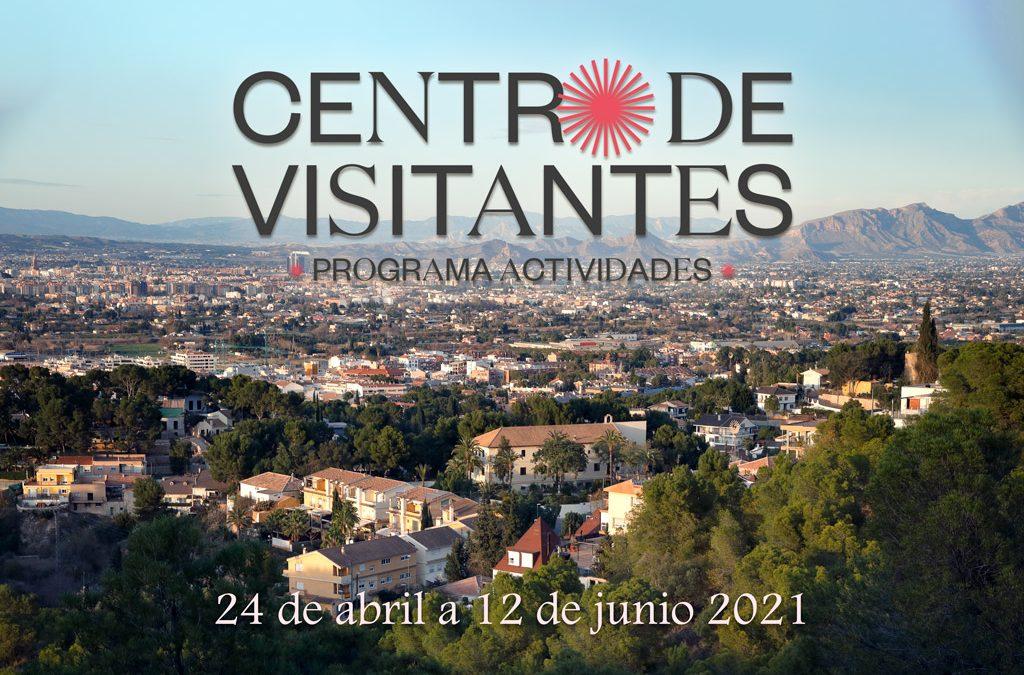 Programa de actividades de los centros de visitantes de abril a mayo de 2021