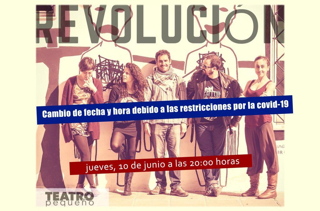 Teatro Pequeño presenta su obra Revolución