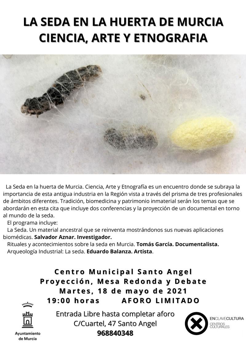La seda en la huerta de Murcia