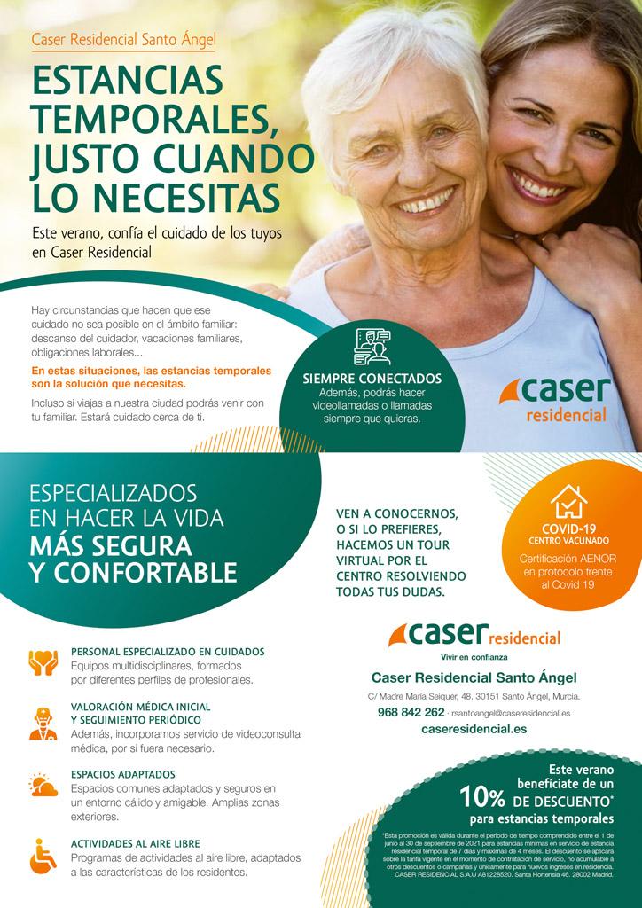 Cartel Caser Residencial Santo Ángel