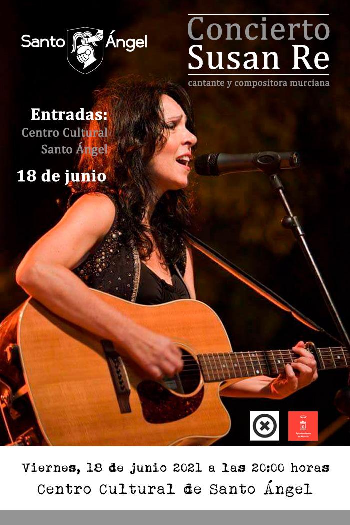 Cartel concierto Susana Re