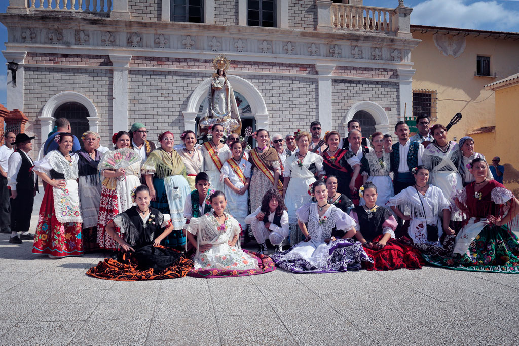 """grupo de baile y canto de la peña """"El Almirez"""""""