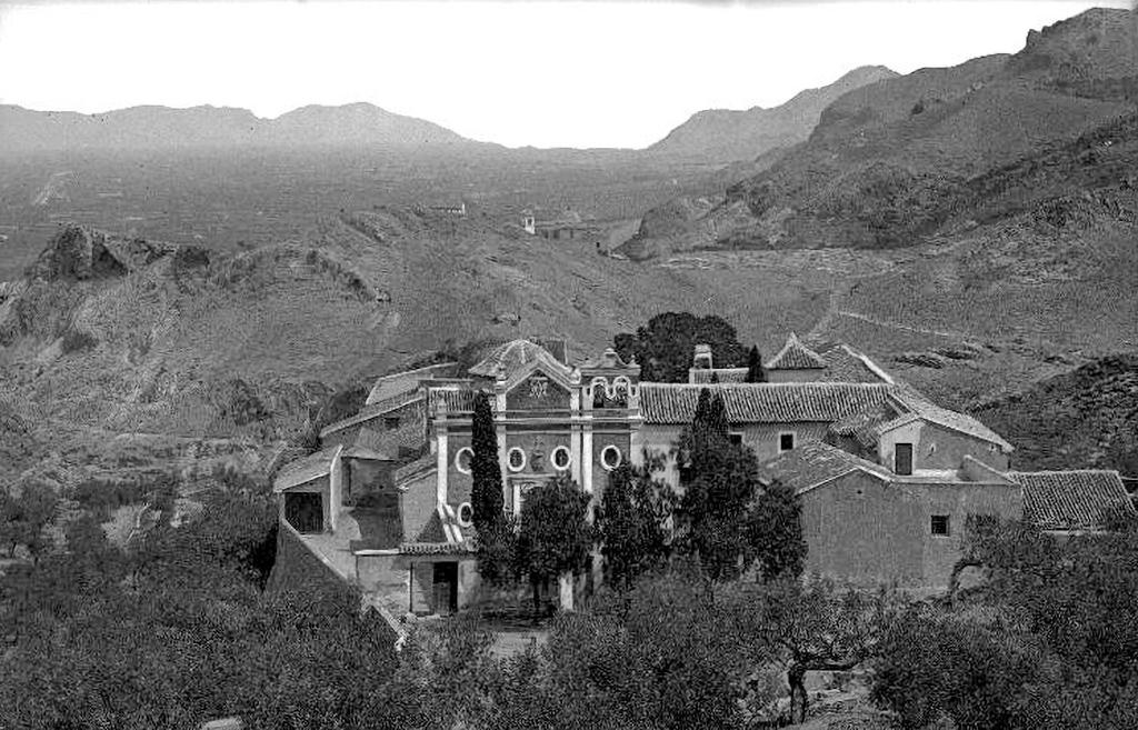Vista del eremitorio de Nuestra Señora de la Luz de Murcia