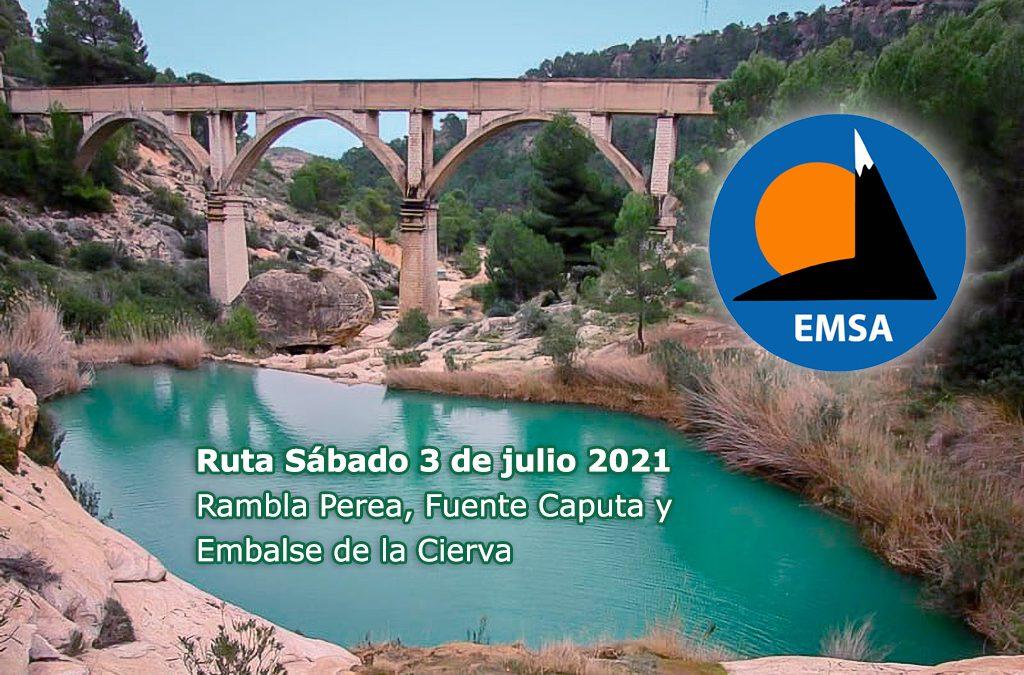Ruta de EMSA: Rambla Perea, Fuente Caputa y Embalse de la Cierva